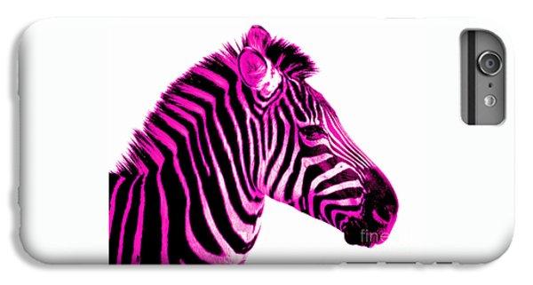 Hot Pink Zebra IPhone 6 Plus Case