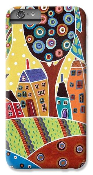 Blackbird iPhone 6 Plus Case - Houses Barn Landscape by Karla Gerard