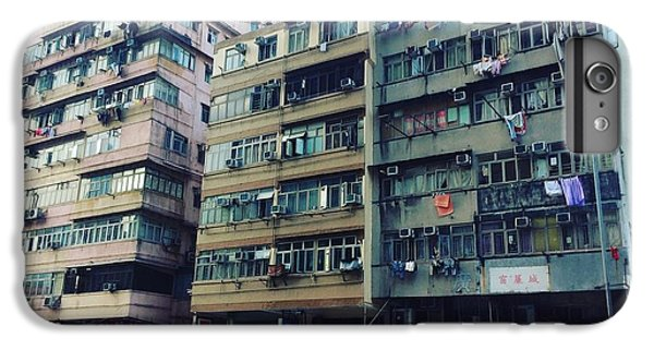 Houses Of Kowloon IPhone 6 Plus Case by Florian Wentsch