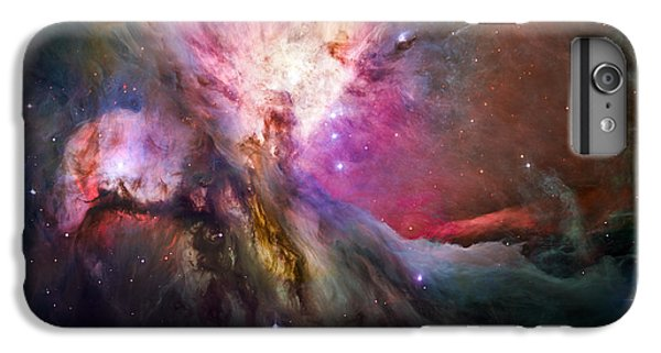 Aliens iPhone 6 Plus Case - Hubble's Sharpest View Of The Orion Nebula by Adam Romanowicz