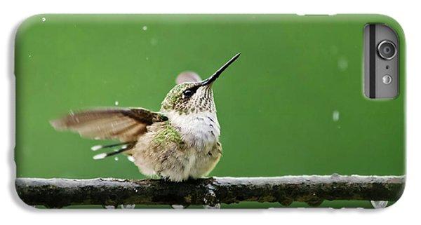 Hummingbird In The Rain IPhone 6 Plus Case