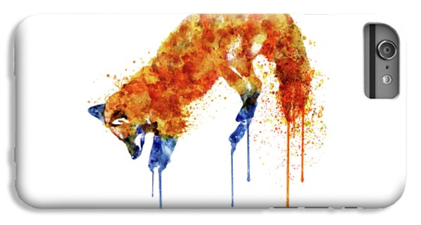 Fox iPhone 6 Plus Case - Hunting Fox  by Marian Voicu