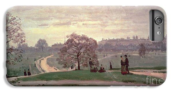 Hyde Park IPhone 6 Plus Case by Claude Monet