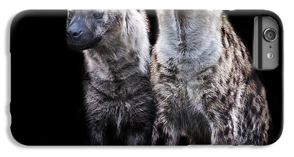 Griffon iPhone 6 Plus Case - Hyena Lookout by Martin Newman