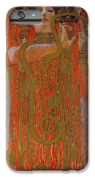 Garden Snake iPhone 6 Plus Case - Hygieia by Gustav Klimt