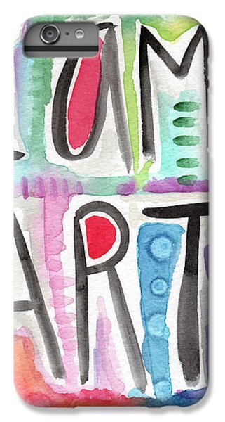 Visual iPhone 6 Plus Case - I Am Art by Linda Woods
