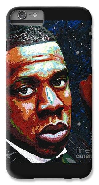 I Am Jay Z IPhone 6 Plus Case by Maria Arango