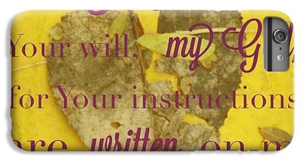 Design iPhone 6 Plus Case - I Waited Patiently For The Lord To Help by LIFT Women's Ministry designs --by Julie Hurttgam