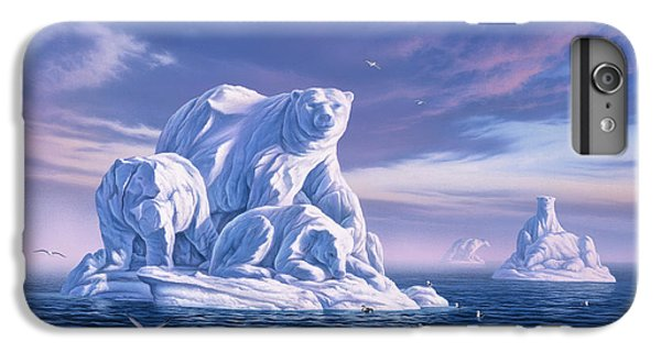 Seagull iPhone 6 Plus Case - Icebeargs by Jerry LoFaro