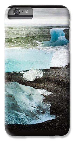 Cool iPhone 6 Plus Case - Iceberg Pieces Jokulsarlon Iceland by Matthias Hauser