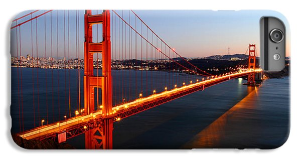 Iconic Golden Gate Bridge In San Francisco IPhone 6 Plus Case