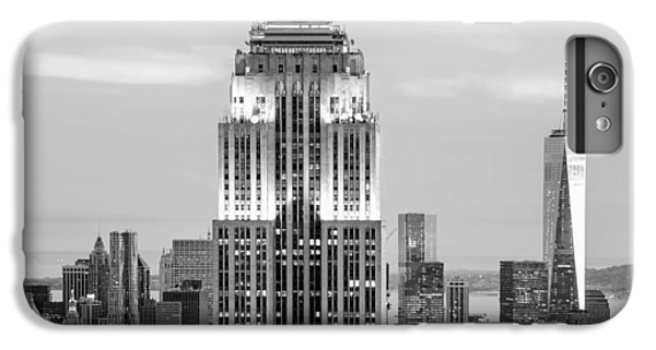 Empire State Building iPhone 6 Plus Case - Iconic Skyscrapers by Az Jackson