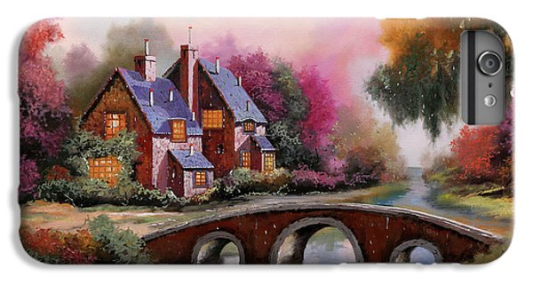 Architecture iPhone 6 Plus Case - Il Ponticello A Colori by Guido Borelli