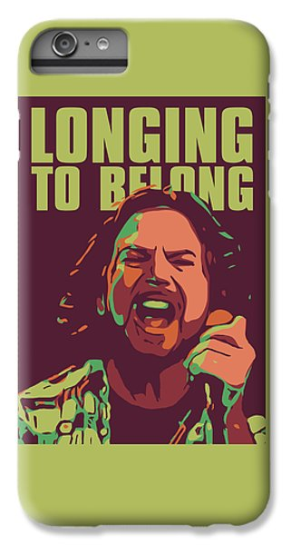 Eddie Vedder IPhone 6 Plus Case by Greatom London