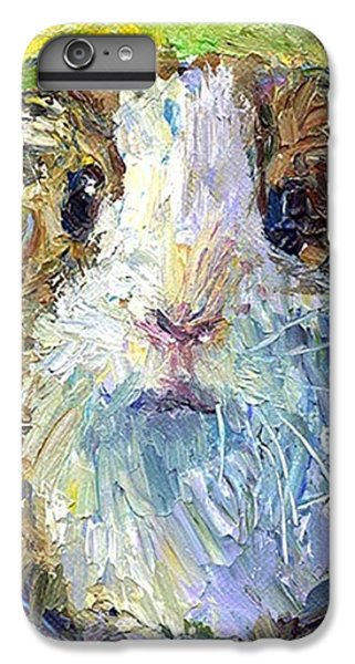 Impasto Impressionistic  Guinea Pig Art IPhone 6 Plus Case
