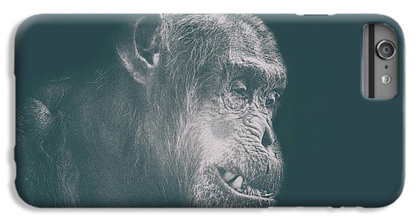 Orangutan iPhone 6 Plus Case - In Deep Thought by Martin Newman
