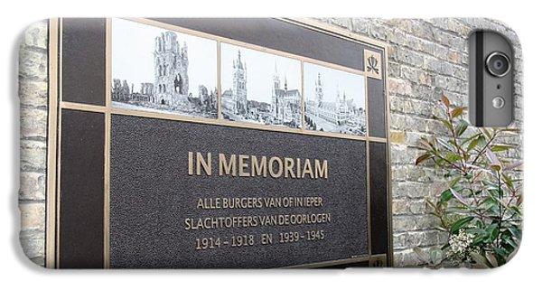 In Memoriam - Ypres IPhone 6 Plus Case