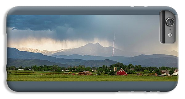 IPhone 6 Plus Case featuring the photograph Incoming Storm Panorama View by James BO Insogna