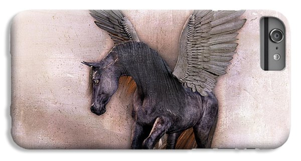 Pegasus iPhone 6 Plus Case - Indian Wind Song by Betsy Knapp