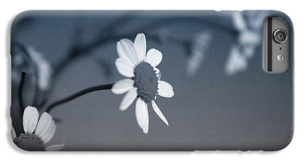 Daisy iPhone 6 Plus Case - Indigo Daisies 1- Art By Linda Woods by Linda Woods