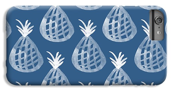 Indigo Pineapple Party IPhone 6 Plus Case