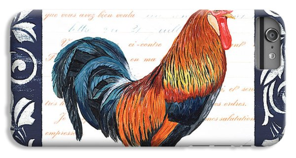 Indigo Rooster 1 IPhone 6 Plus Case by Debbie DeWitt