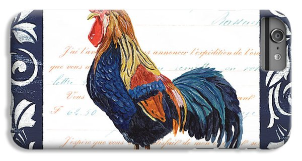Indigo Rooster 2 IPhone 6 Plus Case by Debbie DeWitt