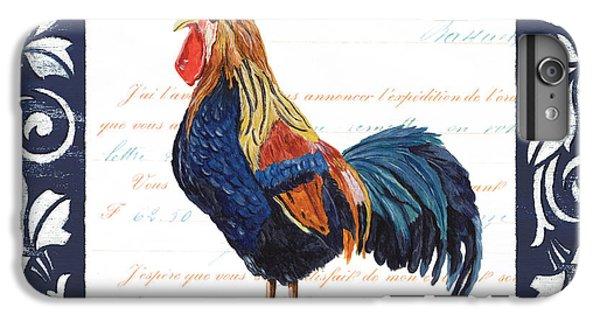 Indigo Rooster 2 IPhone 6 Plus Case by Debbie DeWitt
