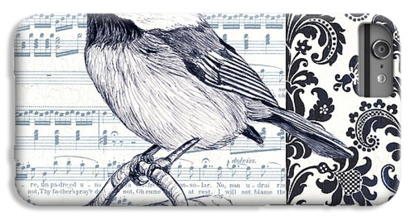 Indigo Vintage Songbird 2 IPhone 6 Plus Case by Debbie DeWitt
