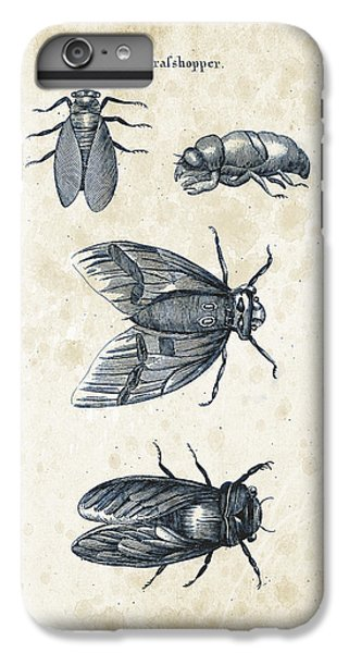 Insects - 1792 - 07 IPhone 6 Plus Case by Aged Pixel