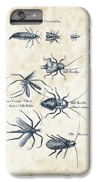 Insects - 1792 - 10 IPhone 6 Plus Case by Aged Pixel