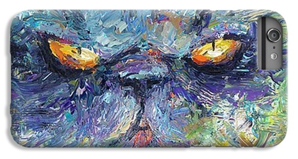 Intense Palette Knife  Persian Cat IPhone 6 Plus Case