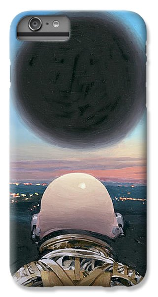 IPhone 6 Plus Case featuring the painting Into The Void by Scott Listfield