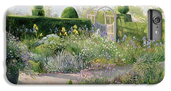 Irises In The Herb Garden IPhone 6 Plus Case