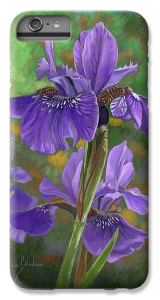 Irises IPhone 6 Plus Case by Lucie Bilodeau
