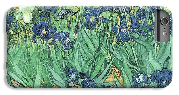 Garden Snake iPhone 6 Plus Case - Irises by Vincent Van Gogh