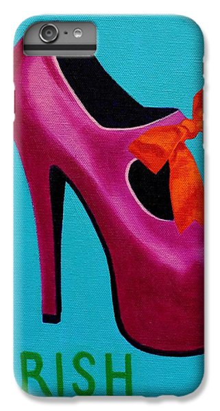 Irish Burlesque Shoe    IPhone 6 Plus Case