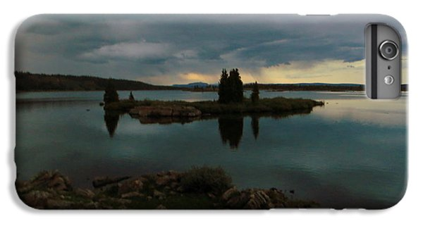 IPhone 6 Plus Case featuring the photograph Island In The Storm by Karen Shackles