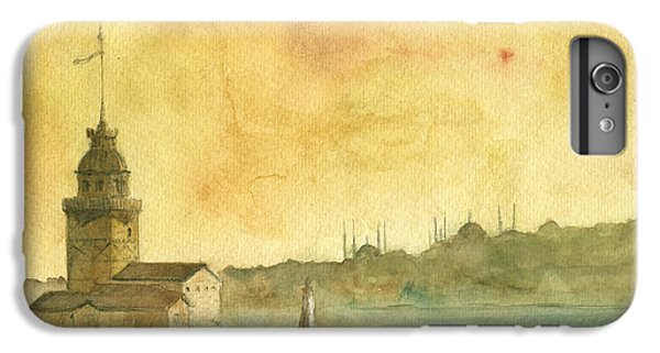 Turkey iPhone 6 Plus Case - Istanbul Maiden Tower by Juan Bosco