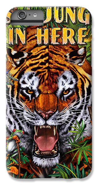 Frogs iPhone 6 Plus Case - It's A Jungle  by JQ Licensing