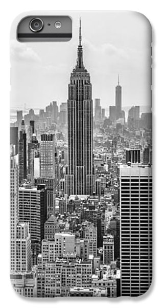Empire State Building iPhone 6 Plus Case - It's A Jungle Out There by Az Jackson