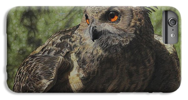 Owl iPhone 6 Plus Case - Ivan by Jennifer Watson