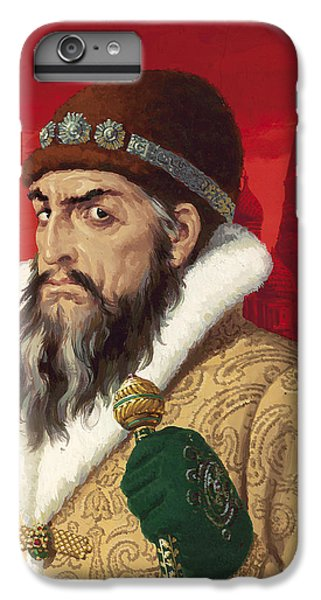 Ivan The Terrible IPhone 6 Plus Case by English School