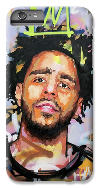 J Cole IPhone 6 Plus Case by Richard Day