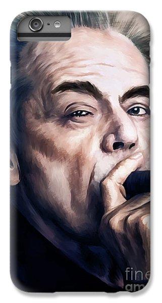 Jack Nicholson iPhone 6 Plus Case - Jack Nicholson 2 by Andrzej Szczerski