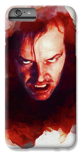 Jack Nicholson iPhone 6 Plus Case - Jack Nicholson, The Shining by John Springfield