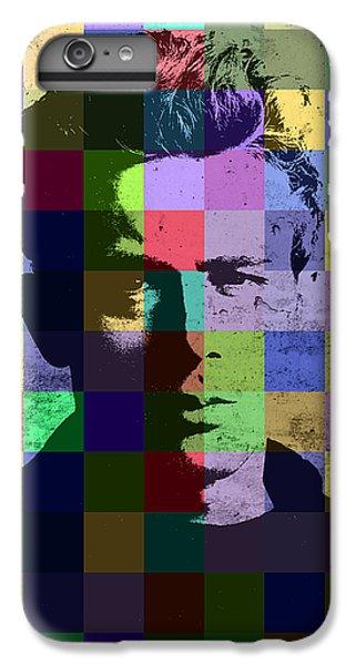 James Dean Actor Hollywood Pop Art Patchwork Portrait Pop Of Color IPhone 6 Plus Case by Design Turnpike