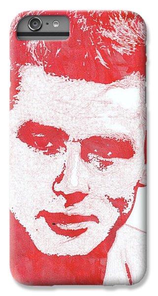 James Dean Pop Art IPhone 6 Plus Case by Mary Bassett