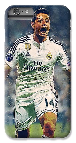 Javier Hernandez Balcazar IPhone 6 Plus Case by Semih Yurdabak