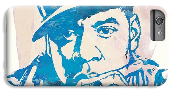 Jay-z  Etching Pop Art Poster IPhone 6 Plus Case by Kim Wang